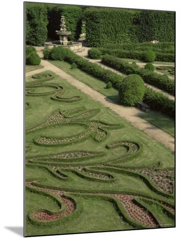 Garden of Flora, Kromeriz Palace, Unesco World Heritage Site, South Moravia, Czech Republic-Upperhall-Mounted Photographic Print