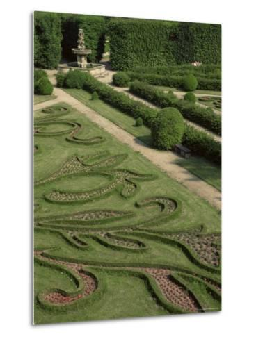 Garden of Flora, Kromeriz Palace, Unesco World Heritage Site, South Moravia, Czech Republic-Upperhall-Metal Print