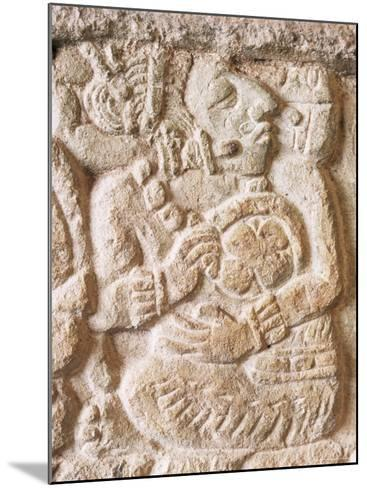 Detail, Structure 9N-82, Copan, Unesco World Heritage Site, Honduras, Central America-Upperhall-Mounted Photographic Print