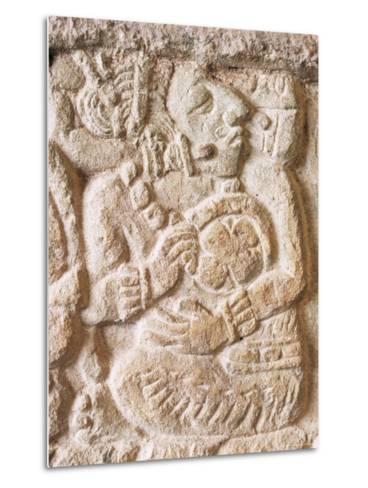 Detail, Structure 9N-82, Copan, Unesco World Heritage Site, Honduras, Central America-Upperhall-Metal Print