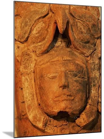 Mayan Funerary Urn, Popol Vuh Museum, Guatemala City, Guatemala, Central America-Upperhall-Mounted Photographic Print