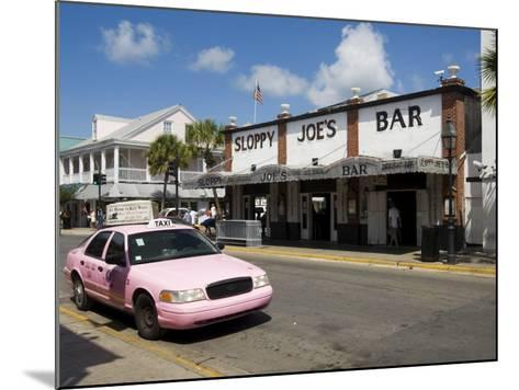 Sloppy Joe's Bar, Famous Because Ernest Hemingway Drank There, Duval Street, Florida-R H Productions-Mounted Photographic Print