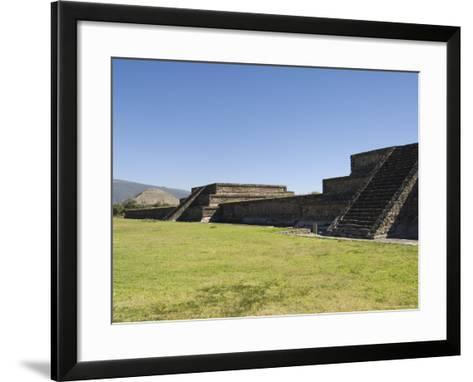 The Citadel, Teotihuacan, Unesco World Heritage Site, North of Mexico City, Mexico, North America-R H Productions-Framed Art Print