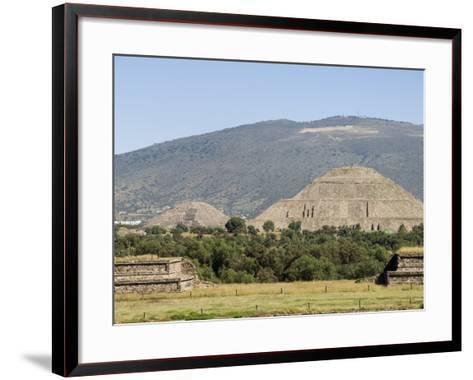 Pyramid of the Sun, Teotihuacan, 150Ad to 600Ad and Later Used by the Aztecs, North of Mexico City-R H Productions-Framed Art Print