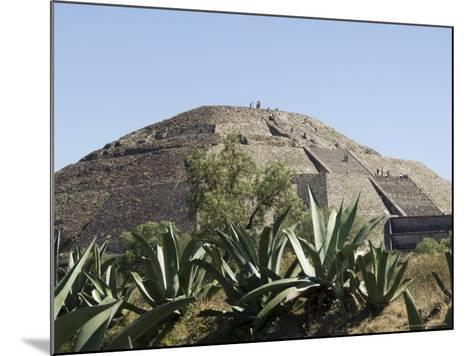 Pyramid of the Moon, Teotihuacan, 150Ad to 600Ad and Later Used by the Aztecs, North of Mexico City-R H Productions-Mounted Photographic Print