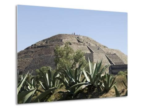 Pyramid of the Moon, Teotihuacan, 150Ad to 600Ad and Later Used by the Aztecs, North of Mexico City-R H Productions-Metal Print