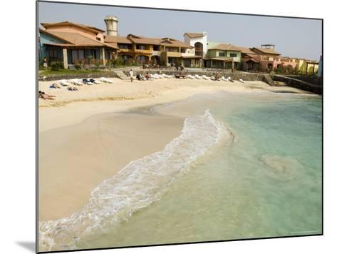 New Development for Booming Property Market, Santa Maria, Sal (Salt), Cape Verde Islands, Africa-R H Productions-Mounted Photographic Print