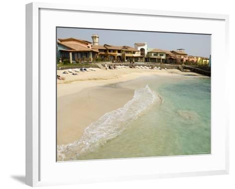 New Development for Booming Property Market, Santa Maria, Sal (Salt), Cape Verde Islands, Africa-R H Productions-Framed Art Print