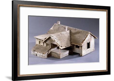 Model for Dorothy's Farmhouse in Kansas for the Film 'The Wizard of Oz', 1939--Framed Art Print