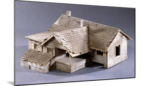 Model for Dorothy's Farmhouse in Kansas for the Film 'The Wizard of Oz', 1939--Mounted Giclee Print