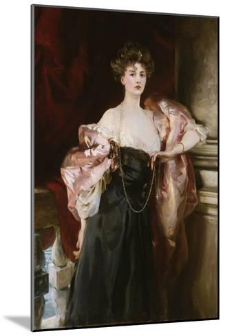 Portrait of Lady Helen Vincent, Viscountess D'Abernon, 1904-Soren Emil Carlsen-Mounted Giclee Print