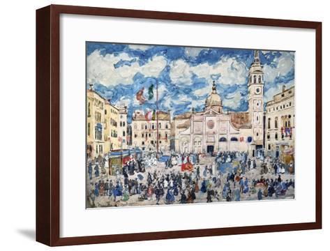 Camp Santa Maria Formosa, Venice, Circa 1898-Henry Alexander-Framed Art Print