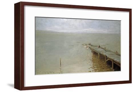 On the Sound-Thomas Jones Barker-Framed Art Print