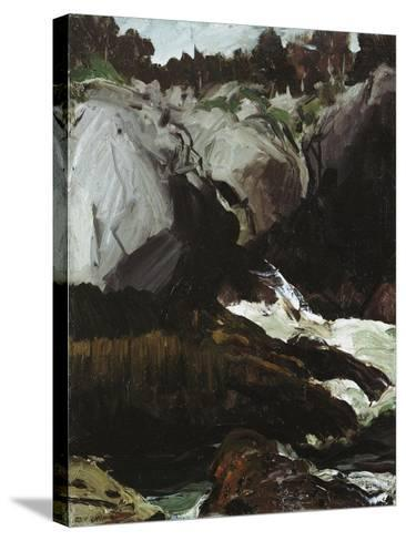 Gorge and Sea, 1911-George Wesley Bellows-Stretched Canvas Print