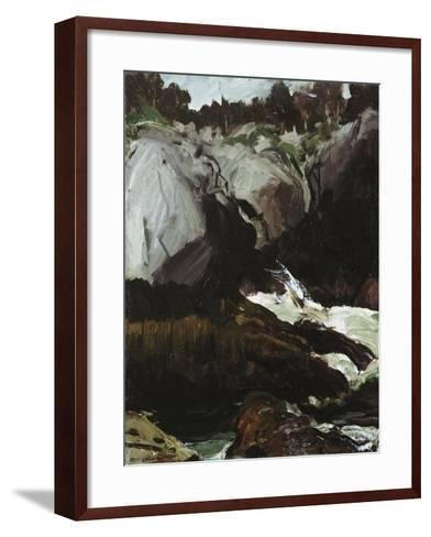 Gorge and Sea, 1911-George Wesley Bellows-Framed Art Print