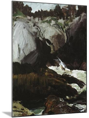 Gorge and Sea, 1911-George Wesley Bellows-Mounted Giclee Print