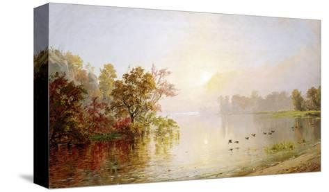 Hazy Afternoon, Autumn, 1873-William Bradford-Stretched Canvas Print