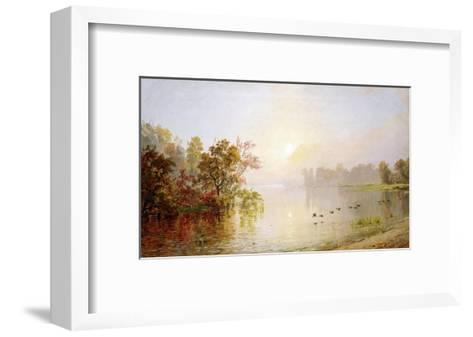 Hazy Afternoon, Autumn, 1873-William Bradford-Framed Art Print