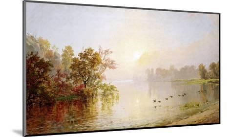 Hazy Afternoon, Autumn, 1873-William Bradford-Mounted Giclee Print