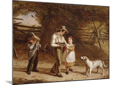 Bird-Egging, 1844-David Gilmour Blythe-Mounted Giclee Print