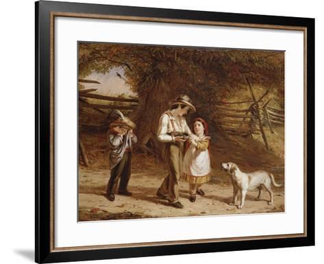Bird-Egging, 1844-David Gilmour Blythe-Framed Art Print