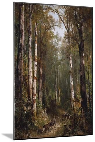 In the Forest, 1885-Thomas Hill-Mounted Giclee Print