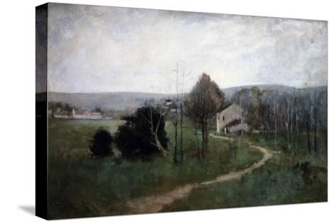 The Winding Path, 1885-George Wesley Bellows-Stretched Canvas Print