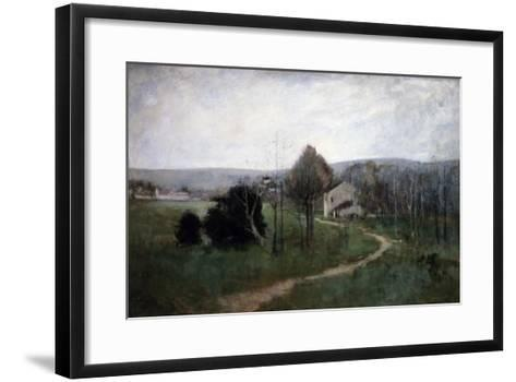The Winding Path, 1885-George Wesley Bellows-Framed Art Print