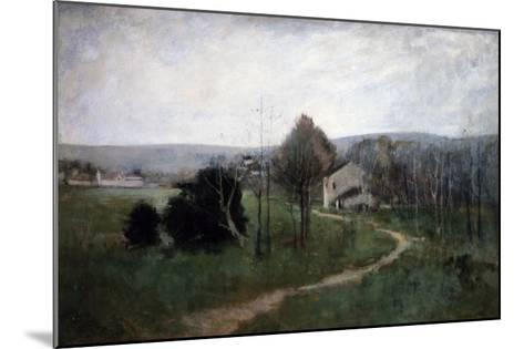 The Winding Path, 1885-George Wesley Bellows-Mounted Giclee Print