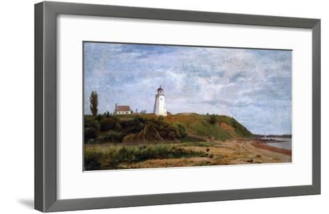 New London, Connecticut-Eug?ne Boudin-Framed Art Print