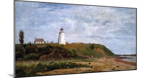 New London, Connecticut-Eug?ne Boudin-Mounted Giclee Print