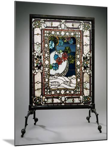 A Leaded Glass Fire Screen-Adler & Sullivan-Mounted Giclee Print