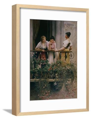 The Balcony-Sir William Beechey-Framed Art Print