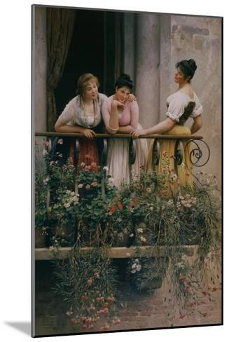 The Balcony-Sir William Beechey-Mounted Giclee Print