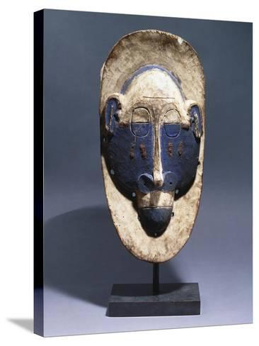 A Lula Mask--Stretched Canvas Print