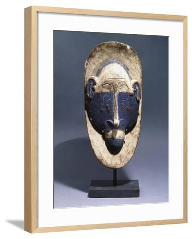A Lula Mask--Framed Art Print