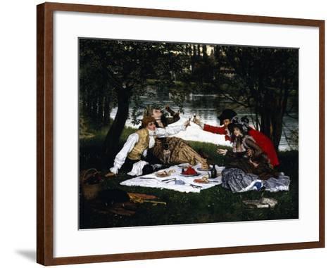 Partie Carree, 1870-Frank Wright Bourdillon-Framed Art Print