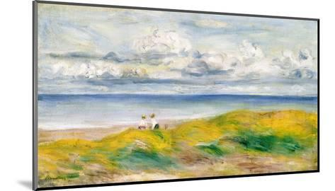 On the Cliffs, 1880-Pierre-Auguste Renoir-Mounted Giclee Print