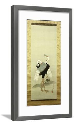 Cranes-Suzuki Kiitsu-Framed Art Print