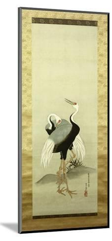 Cranes-Suzuki Kiitsu-Mounted Giclee Print