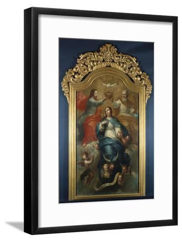 Coronation of the Virgin-Emilio Boggio-Framed Art Print