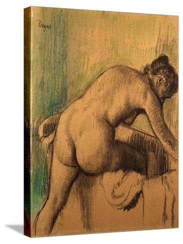 The Bath, 1883-Alfred Thompson Bricher-Stretched Canvas Print