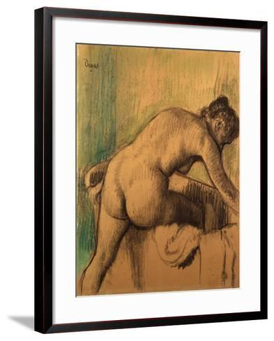 The Bath, 1883-Alfred Thompson Bricher-Framed Art Print