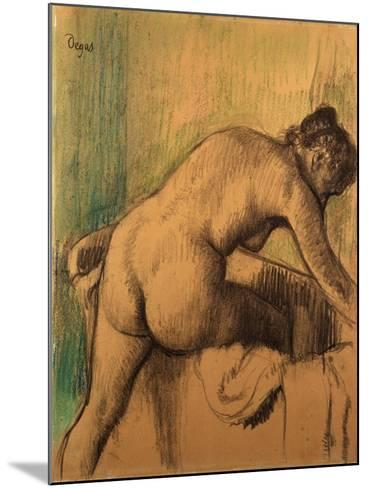 The Bath, 1883-Alfred Thompson Bricher-Mounted Giclee Print