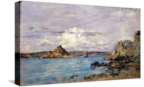 Douarnenez: the Bay (Draft); La Baie (Esquisse), 1895-1897-Eug?ne Boudin-Stretched Canvas Print