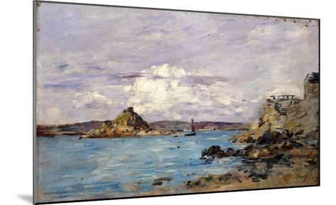 Douarnenez: the Bay (Draft); La Baie (Esquisse), 1895-1897-Eug?ne Boudin-Mounted Giclee Print