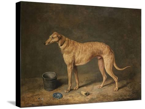 A Deerhound in a Stable Interior, 1817-Henry Thomas Alken-Stretched Canvas Print
