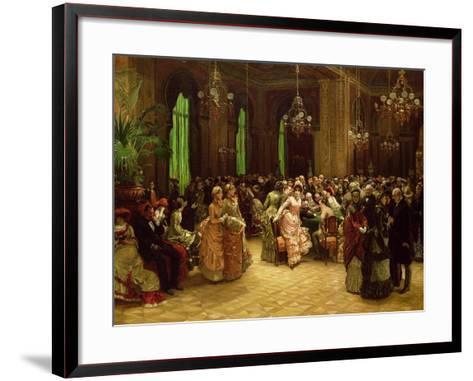 The Casino, Monte Carlo, 1884-Sir William Beechey-Framed Art Print
