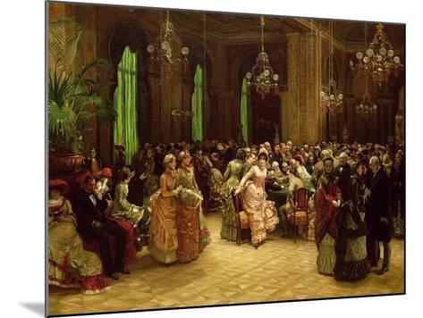 The Casino, Monte Carlo, 1884-Sir William Beechey-Mounted Giclee Print