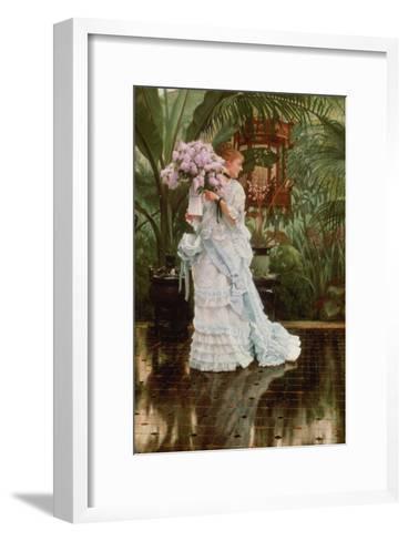 The Bunch of Lilacs, 1875-Sir Lawrence Alma-Tadema-Framed Art Print